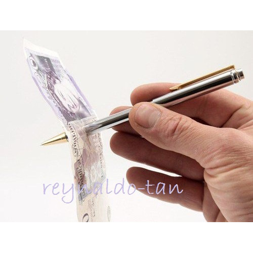 Foto Produk Alat Sulap Perfect Pen - Pen Tembus Uang - Pen Thru High Quality dari reynaldo-tan
