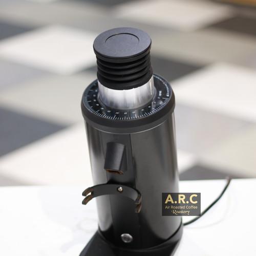 Foto Produk Grinder Kopi Elektrik IMPRESSO Push Single Dose Zero Retention - Hitam dari Toko Rok Presso