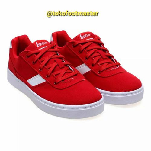 Foto Produk Sepatu Sneakers League Original Austin M High Risk Red dari Toko Sepatu FootMaster