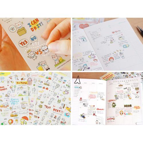 Foto Produk Cochonn Stickers / Sticker Deco Lucu / Stiker Dekorasi Unik dari Pinkabulous