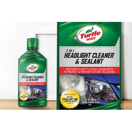 Foto Produk Turtle Wax HEADLIGHT CLEANER & SEALANT 266 mL dari Turtle Wax