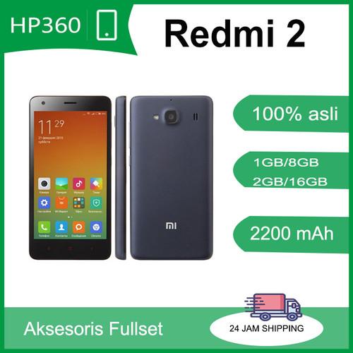 Foto Produk Xiaomi Redmi 2 1/8GB 2/16GB - 1/8GB, Putih dari hp360