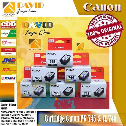 Foto Produk 1 Set Tinta Canon 745 & 746 Original dari David jaya Com