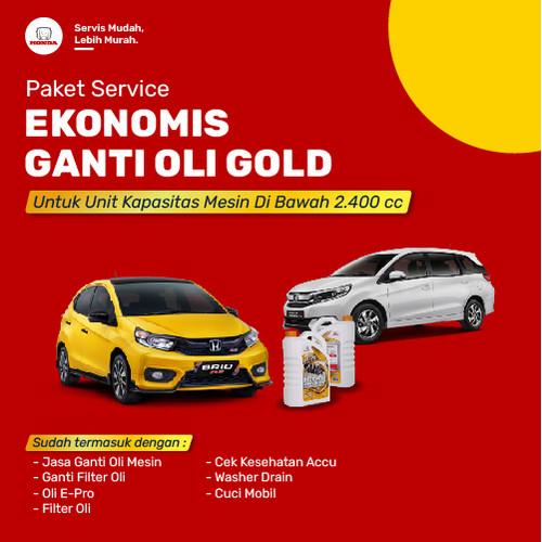 Foto Produk Paket Ekonomis Ganti Oli Gold dari Honda Bintang Madiun