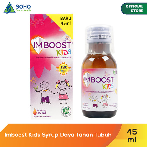 Foto Produk Imboost Kids Syrup Daya Tahan Tubuh - 45ml dari Soho Global