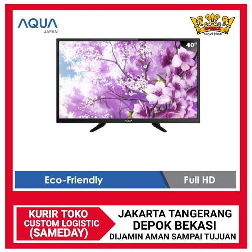 Foto Produk AQUA LED TV 40 Inch - 40AQT8550 - TANPA BONUS dari DPRINCE