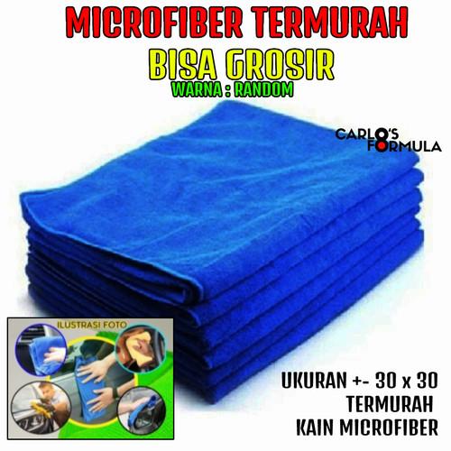 Foto Produk Kain Lap Serat Micro Fiber Lap Microfiber Mobil Mikrofiber Motor Murah dari CarlosFormula