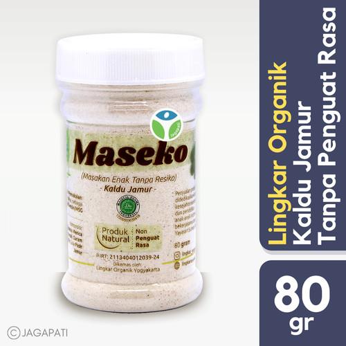 Foto Produk Maseko - Kaldu Jamur - 100 gram - Penyedap Rasa Organik - Bumbu Masak dari Jagapati