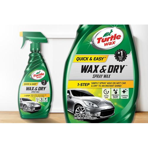 Foto Produk Turtle Wax WAX AND DRY 769 mL dari Turtle Wax