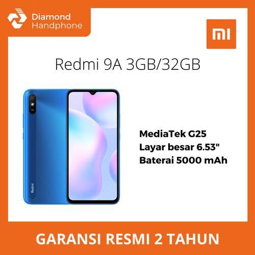 Foto Produk Xiaomi Redmi 9A 3/32 RAM 3GB ROM 32GB - Biru dari Diamond Handphone Bali