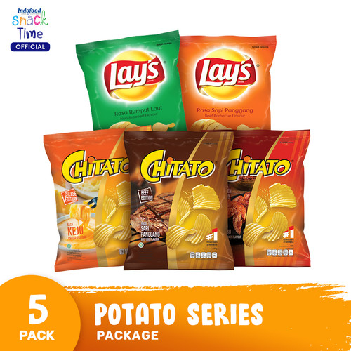 Foto Produk Potato Series Package dari Indofood Snack Time