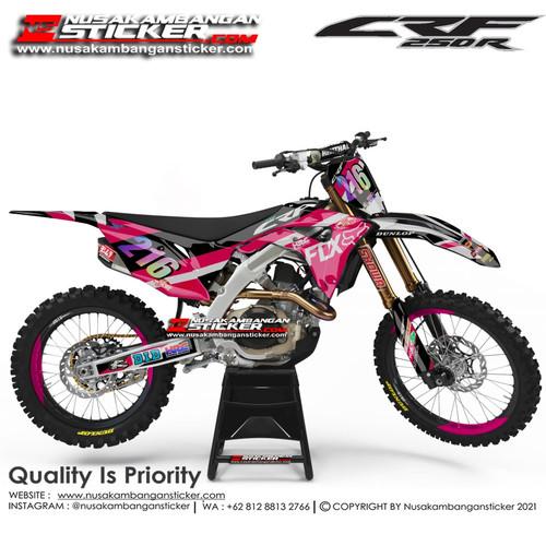 Foto Produk Stiker CRF 216 Pink dari Nusakambangan Sticker01