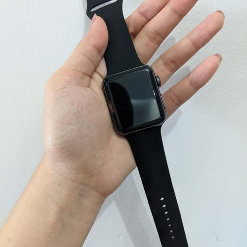 Foto Produk Apple watch series 3 42mm Second Jakarta Gojek s3 applewatch iwatch - space grey dari handphone shop 1718