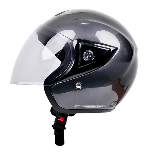 Foto Produk Cargloss CM Cargloss Helm Half Face - Abu-abu dari Helm Cargloss
