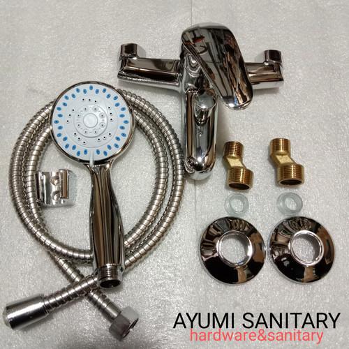 Foto Produk kran bathub kran mixer shower panas dingin dari Ayumi sanitary