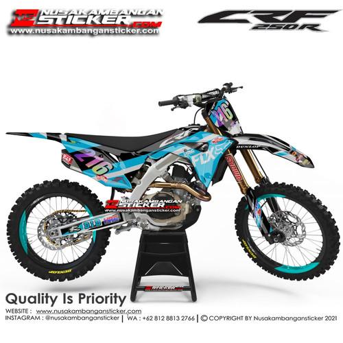 Foto Produk Stiker CRF 216 Biru dari Nusakambangan Sticker01