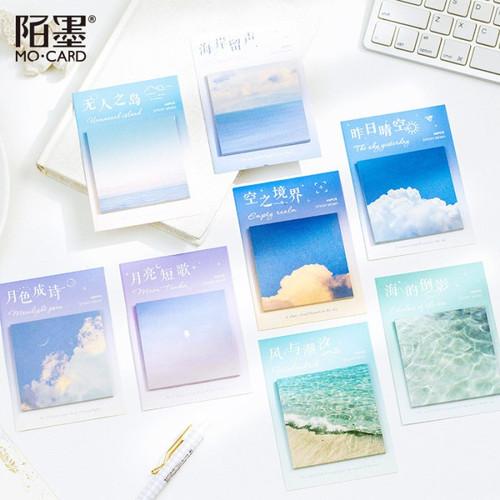 Foto Produk The Sky Yesterday Sticky Notes dari Pinkabulous