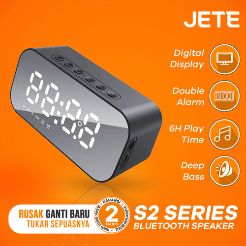 Foto Produk Speaker Bluethooth Jete S2 - Bluethooth V 5.0 - Original dari JETE Indonesia