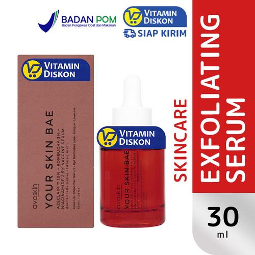 Foto Produk AVOSKIN YOUR SKIN BAE AZECLAIR 10%+KOMBUCHA 3%+NIACINAMIDE 2.5% SERUM dari Vitamindiskon