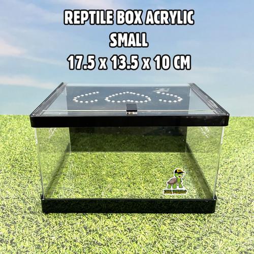 Foto Produk REPTILE BOX MAGNET SIZE S KANDANG REPTIL SNAKE ULAR BALLPYTHON SKINK dari XDR TURTLE