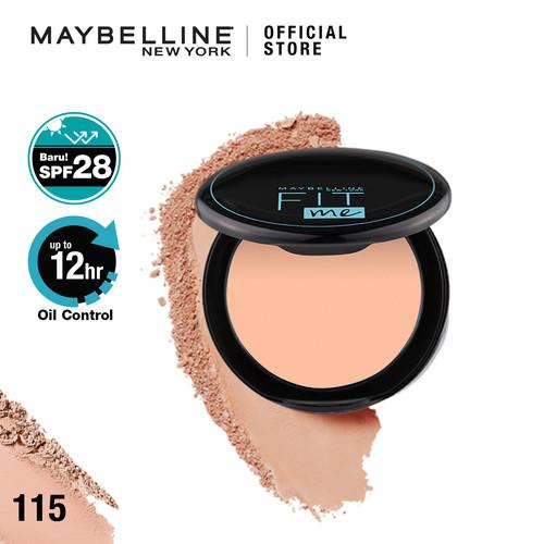 Foto Produk Maybelline FIT ME 12H Oil Control Powder - 115 dari Maybelline Official Shop