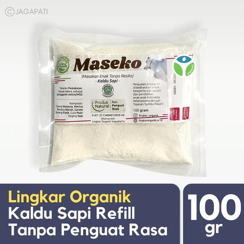 Foto Produk Lingkar Organik - Maseko Sapi Refill 100gr - PEnyedap Rasa dari Jagapati