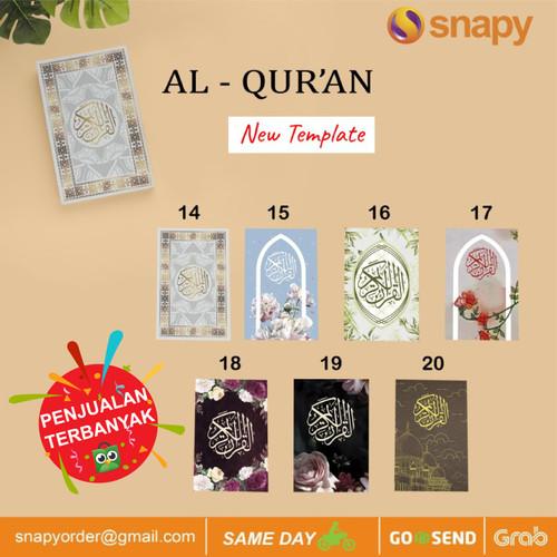 Foto Produk Alquran | Custom Cover Alquran | Souvenir Alquran dari snapy