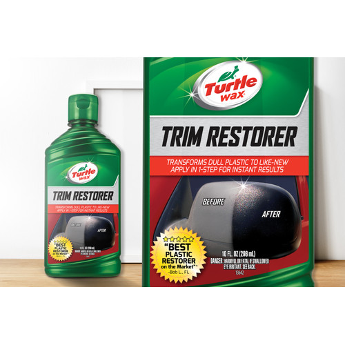 Foto Produk Turtle Wax TRIM RESTORER (Semir Plastik Plastic Restorer) 296 mL dari Turtle Wax