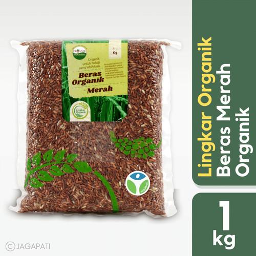 Foto Produk Lingkar Organik - Beras Merah 1 kg - Organik - Rendah gula dari Jagapati