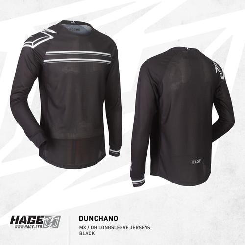 Foto Produk Jersey Sepeda MTB DH XC AM Merk HAGE DUNCHANO black - S dari THUNDERSTAR SHOP