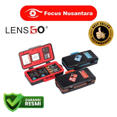 Foto Produk LENSGO CAMERA BATTERY AND MEMORY CARD CASE D950 dari Focus Nusantara