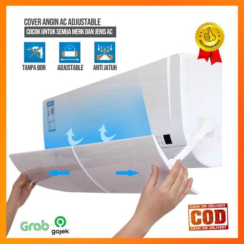 Foto Produk Cover Angin AC Adjustable Air Conditioner Windshield - TIPE A (POLOS) dari dktoko