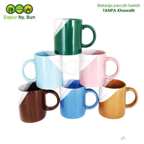 Foto Produk Mug Gagang Two Tone 2 Warna Ukuran 300ml - SKU 2 dari Dapur Ny.Bun