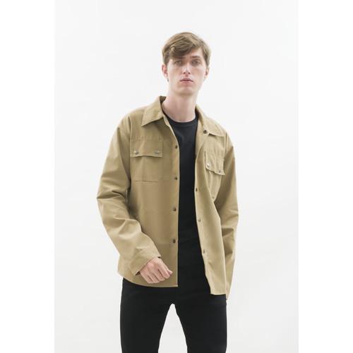 Foto Produk Jaket parka outer jaket pria semi parka warna krem dari House of Cuff