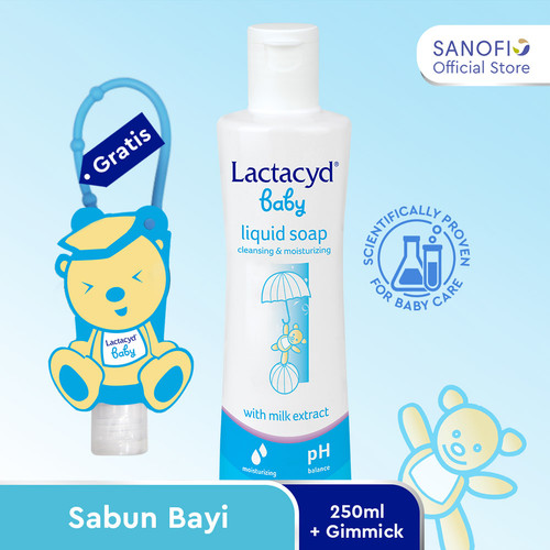 Foto Produk Special Package Lactacyd Baby 250 ml free Exclusive Hand Sanitizer dari Sanofi Official Store