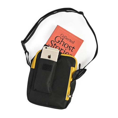 Foto Produk Woodbags Sling Bag Mores - Hitam Kuning dari Woodbags Store