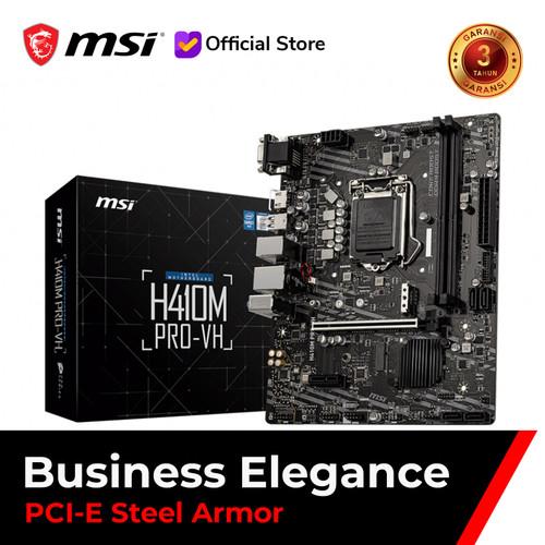 Foto Produk MSI H410M PRO-VH [mATX   LGA 1200   Gen 10] dari MSI Shop ID