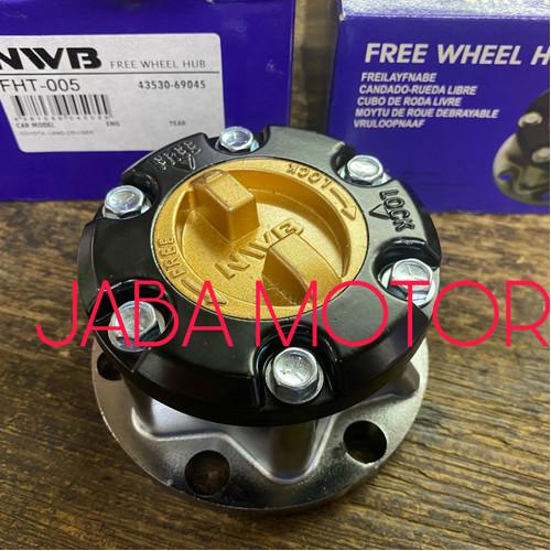 Foto Produk Free lock Hartop 2F gigi halus set kiri kanan 2pc dari JABA MOTOR TOYOTA