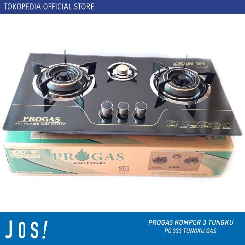 Foto Produk KOMPOR GAS LPG 3 TUNGKU SUGGO SG-301 - PROGAS gas gas dari J O S