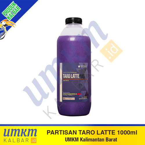 Foto Produk Partisan Taro Latte 1000ml dari umkmkalbar.id