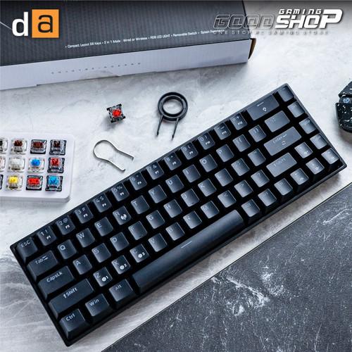 Foto Produk DIGITAL ALLIANCE MECA AIR RGB LED Light - Gaming Keyboard - BLACK CASE, BLUE SWITCH dari Goodgamingshop