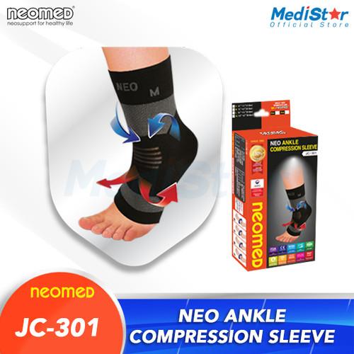 Foto Produk Neomed Ankle Compression Sleeve JC-301 - M dari MediStar