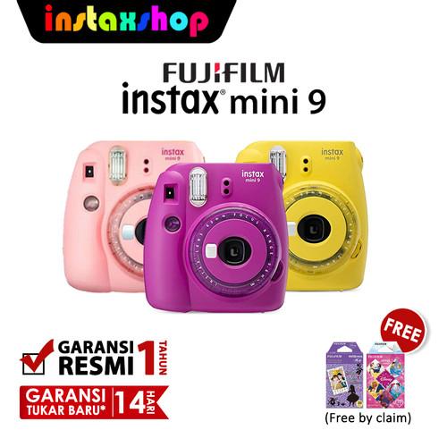 Foto Produk Fujifilm Instax Mini 9 Clear Limited Edition + Free Color Lens - Clear Purple dari Instaxshop Official