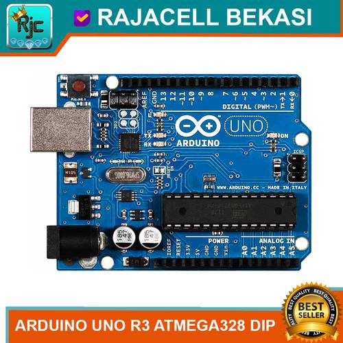Foto Produk Uno R3 Atmega328 DIP atmega16u2 High Quality Ardiano Board dari RAJACELL BEKASI