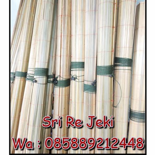Foto Produk (PROMO!!!) Tirai Bambu 2x2m Kerai/keray Sudah termasuk katrol - Promo dari Sri Reje ki
