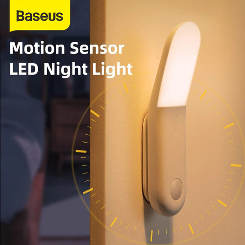 Foto Produk BASEUS LAMPU DINDING SENSOR OTOMATIS / MALAM / TIDUR LED KAMAR RUMAH - Aisle Light dari Baseus Official Store