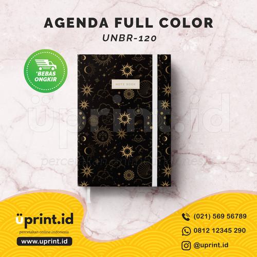Foto Produk Agenda A5 Hardcover/ Notebooks / Buku Catatan - UNBR120 dari Uprint.id