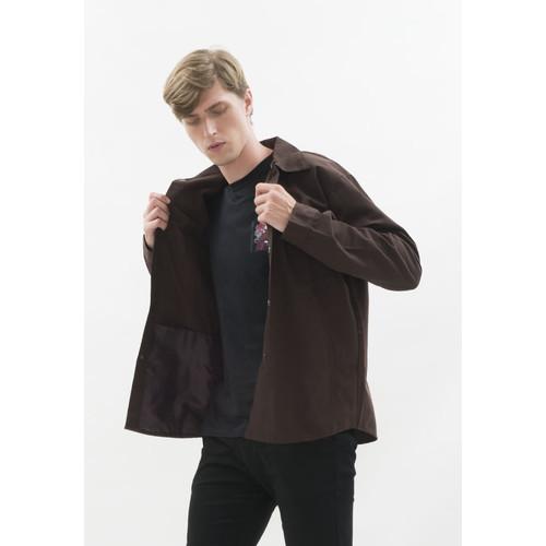 Foto Produk Jaket parka outer jaket pria semi parka warna coklat dari House of Cuff