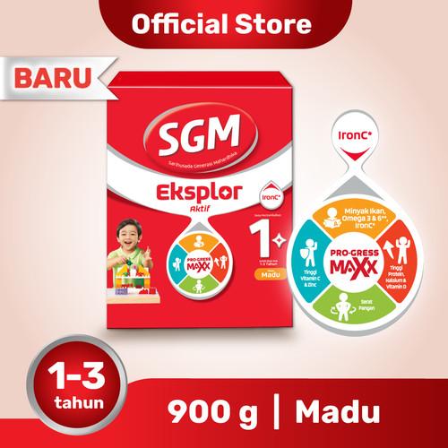 Foto Produk SGM Eksplor 1 Plus Susu Pertumbuhan 1-3 Thn Madu 900g dari SGM Official Store