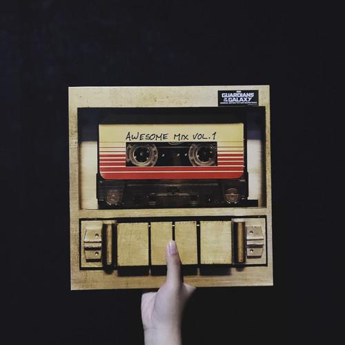 Foto Produk Guardian of The Galaxy - Awesome Mix Vol.1 (Vinyl/Piringan Hitam) dari Hanjuang Rekords
